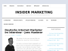 Deutsche Internet Marketer im Interview – Jens Huebner