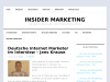 Deutsche Internet Marketer im Interview Jens Krause