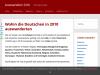 Top 20 Auswanderungsziele Deutscher in 2010