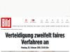 Verteidigung zweifelt faires Verfahren an - München - München - Bild.de