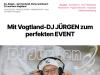 mobile Disco Transit mit Hochzeits DJ