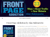 Front Page Addiction is a resource and publisher of Marketing, Design, Social Media and SEO books. Offering marketing books social media and search engine optimization information.