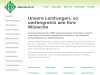 Leistungsübersicht der GEBRA Gebäudereinigung München