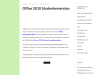 Office 2010 Studentenversion
