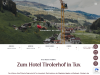 4* Hotel Tirolerhof – Kontakt: Lage & Anreise - Lanersbach