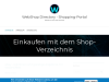Web Shop Directory - Einkaufen im Internet Shop Portal: Alles aus den Bereichen Technik, E