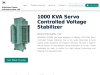 1000 KVA Servo Controlled Voltage Stabilizer Manufacturers in India