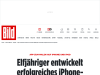Elfjähriger entwickelt erfolgreiches iPhone-Programm