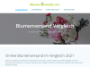 Online Blumenversand Vergleich
