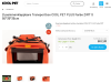 Zusammenklappbare Transportbox COOL PET PLUS 2XL ROT