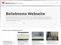 http://www.beliebtestewebseite.de