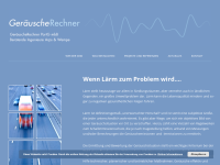 http://www.geraeusche-rechner.de