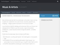 http://www.musicandartists.de