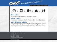 http://www.ohrt-aktenaufbewahrung.de
