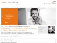 http://www.saupe-telemarketing.de