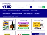 http://www.schilder-klug.de
