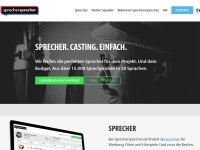 http://www.sprechersprecher.de