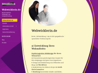 http://www.webwicklerin.de