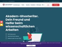Ghostwriter gesucht? Agentur Akadem-Ghostwriter
